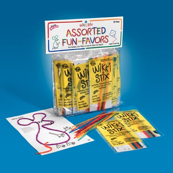 WikkiStix Assorted Fun Favors ($18)