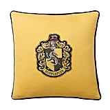 Hufflepuff Crest Throw Pillow ($40)