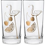 Flamingo Glasses (Set of 2) ($39)