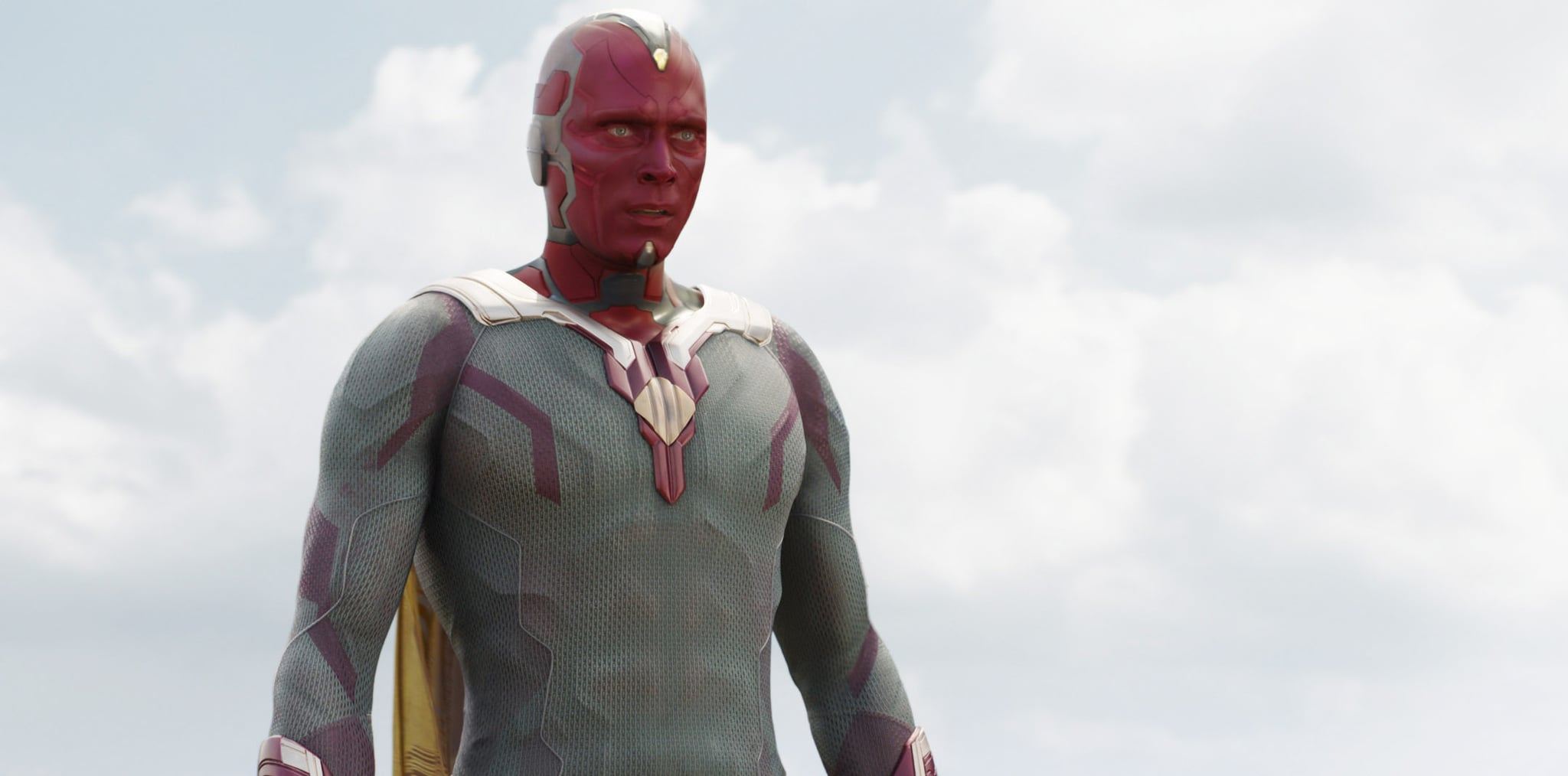 CAPTAIN AMERICA: CIVIL WAR, Paul Bettany, as Vision, 2016. / TM &  2016 Marvel. All rights reserved. /  Walt Disney Studios Motion Pictures / courtesy Everett Collection