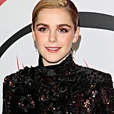 Kiernan Shipka at the Chilling Adventures of Sabrina Premiere in 2018