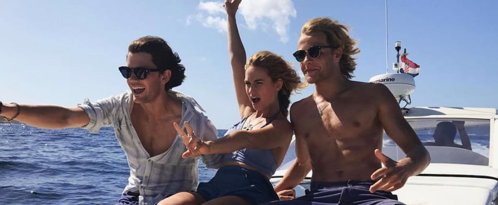 See the First Adorable Photos of Lily James as Donna in the Mamma Mia Sequel