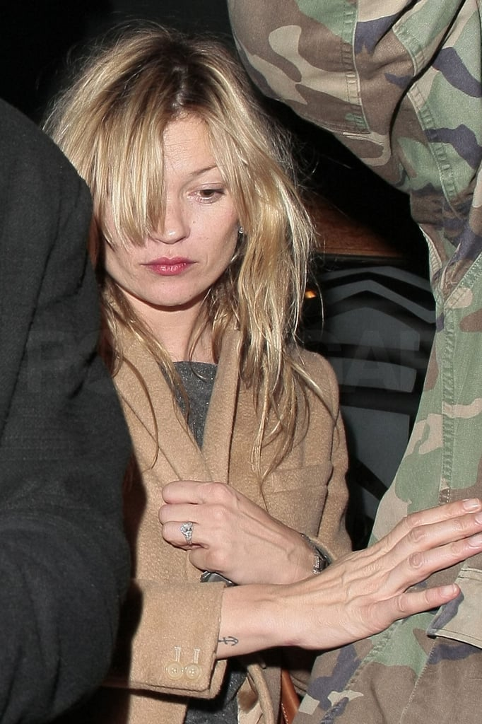Pictures Of Kate Moss Leaving The Groucho Club In London Popsugar