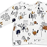 Miles Baby Unisex Forest-Drawing-Print Tee