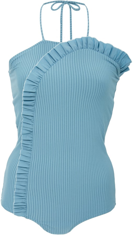 Made By Dawn Arc Jacquard Ribbed One-Piece Swimsuit
