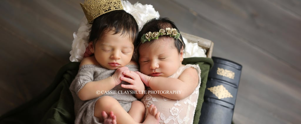 The Adorable Story Behind Baby Romeo and Juliet's Newest Photo Shoot