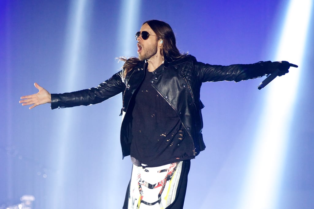 We Almost Forgot: Jared Leto Is a Rock Star, Too