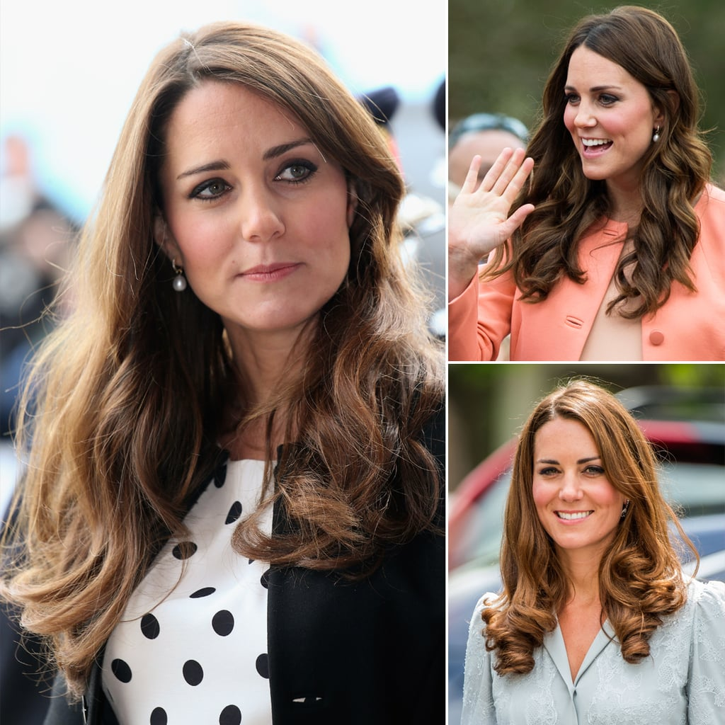 Kate Middleton Best Hair Pictures