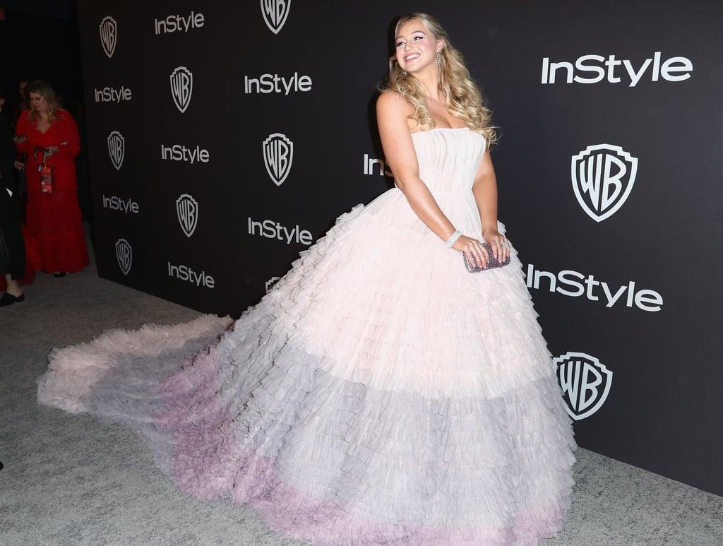 Iskra Lawrence Dresses at Golden Globes Afterparty 2019