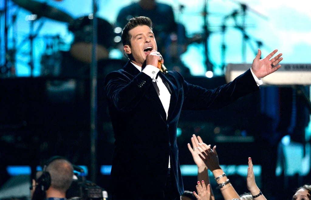 Robin Thicke performed.