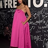 Jameela Jamil Wore the Rochas Gown to the YSL Beauty Libre Launch