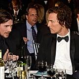Christian Bale and Matthew McConaughey
