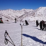 Though Iran is probably the last place you'd think of to go skiing, Garfors says the skiing in the north of the country is a must — but don't be surprised at the number of fully covered women on the slopes.