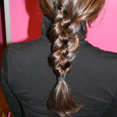 How-To Do a Four Strand Braid