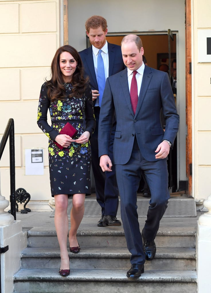 Kate Middleton Floral Erdem Dress Jan. 2017