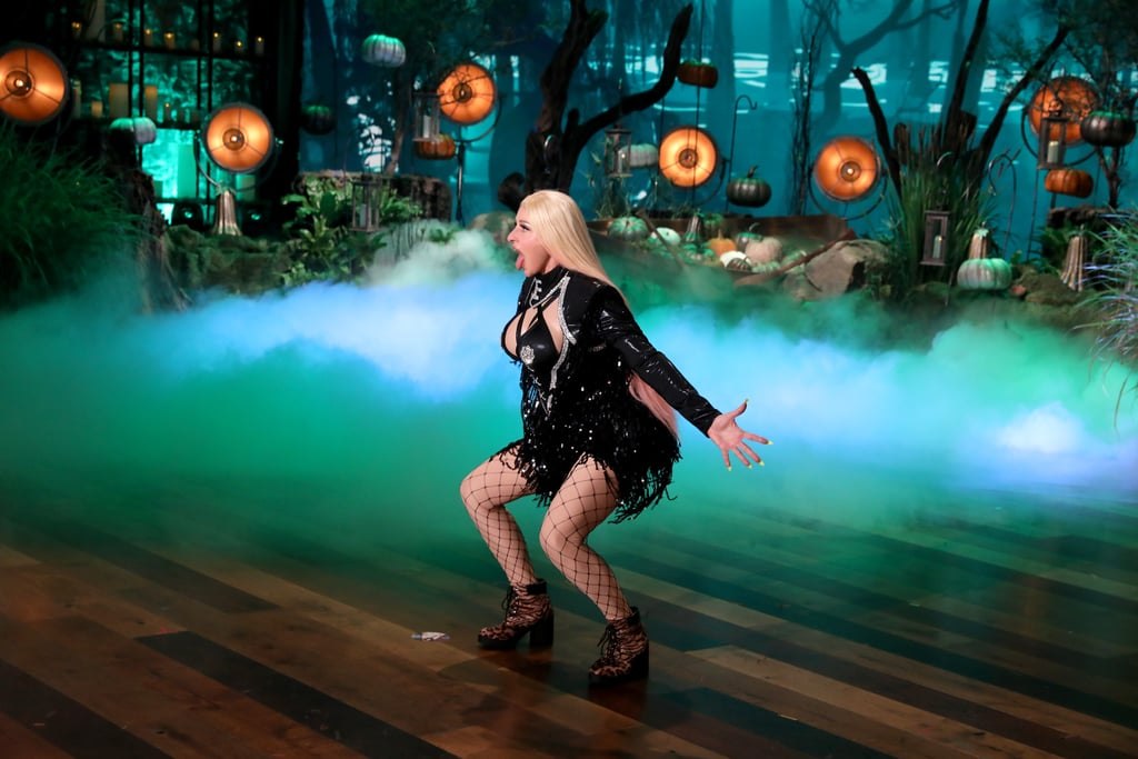 "See More Photos of Ellen DeGeneres Dressed as ""Cardi E"" For Halloween"