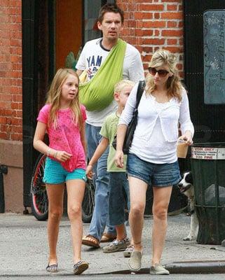 The Hawke Family Keeps Walkin'
