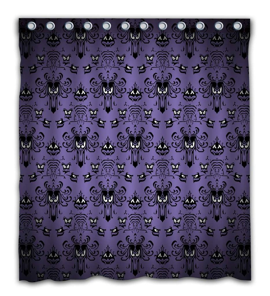 Happy Halloween Haunted Mansion  Shower Curtain