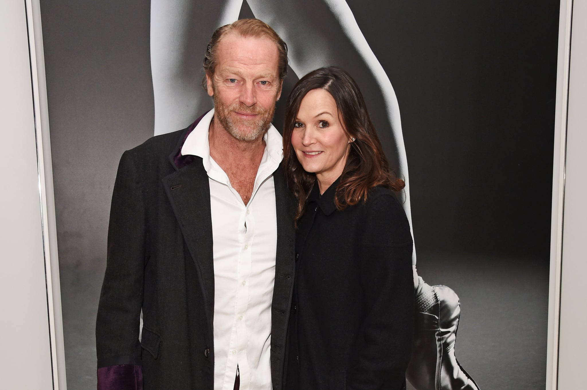 Iain Glen with beautiful, Wife Charlotte Emmerson