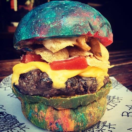 Gene Wilder Rainbow Burger