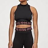 H&M x Justine Skye Contrasting Cycling Shorts
