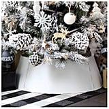 White Farmhouse Tree Collar