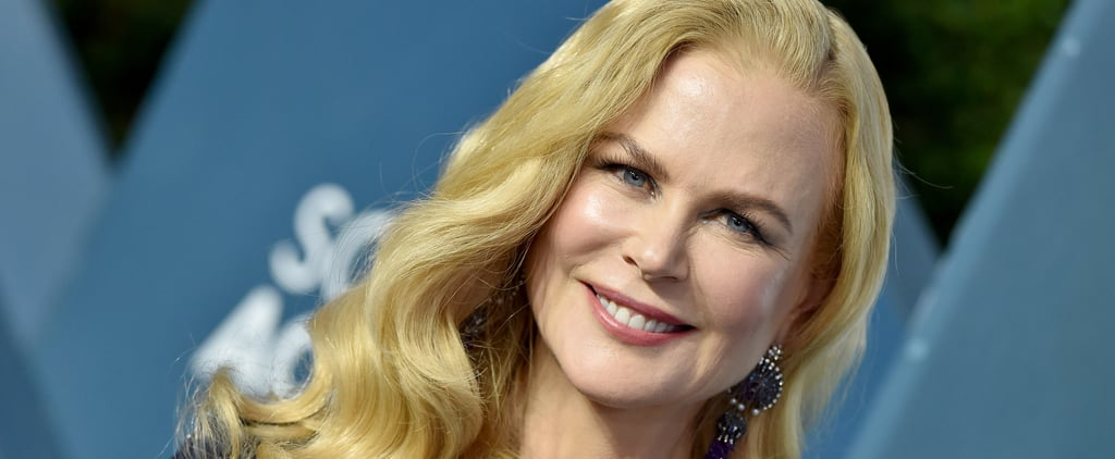 Nicole Kidman's Natural Curly Hair