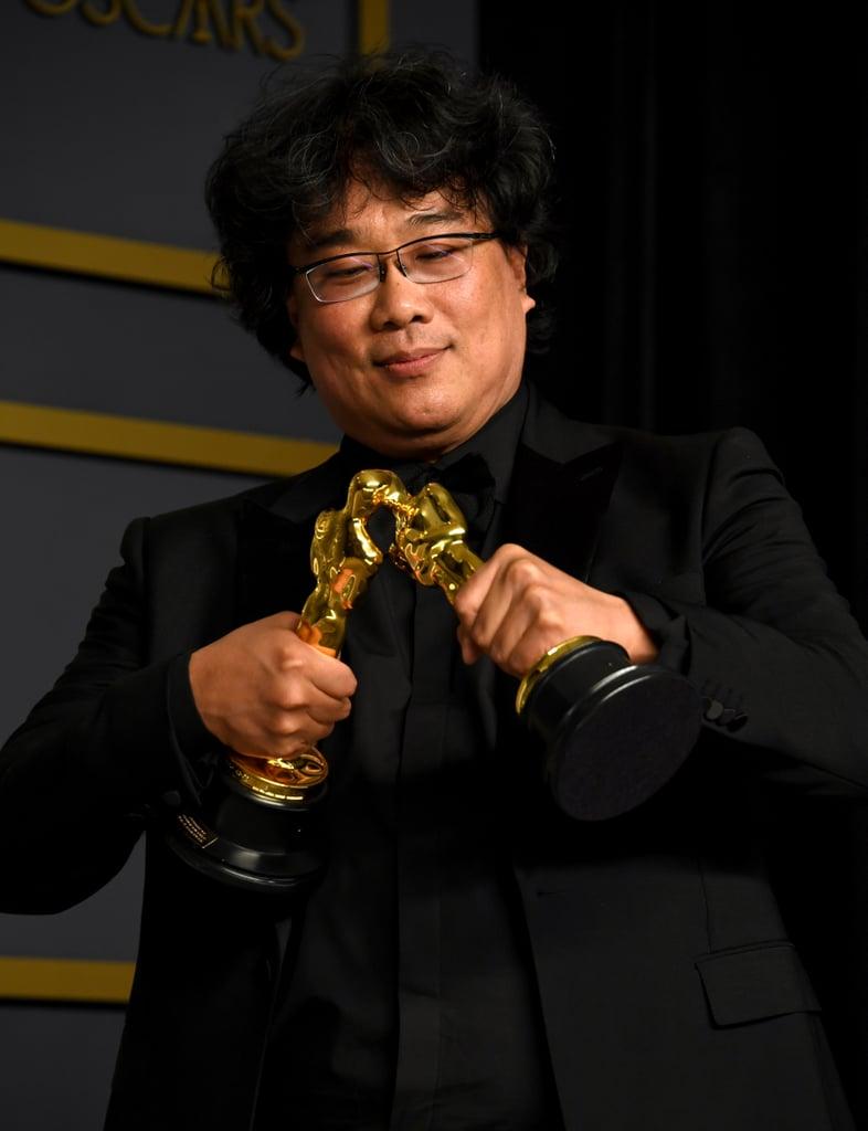 Yep, He Even Made His Oscars Share a Kiss à la Barbie Dolls