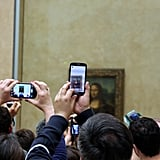 """You Could Actually See the """"Mona Lisa"""" Without Phones Flashing in Front of You"""