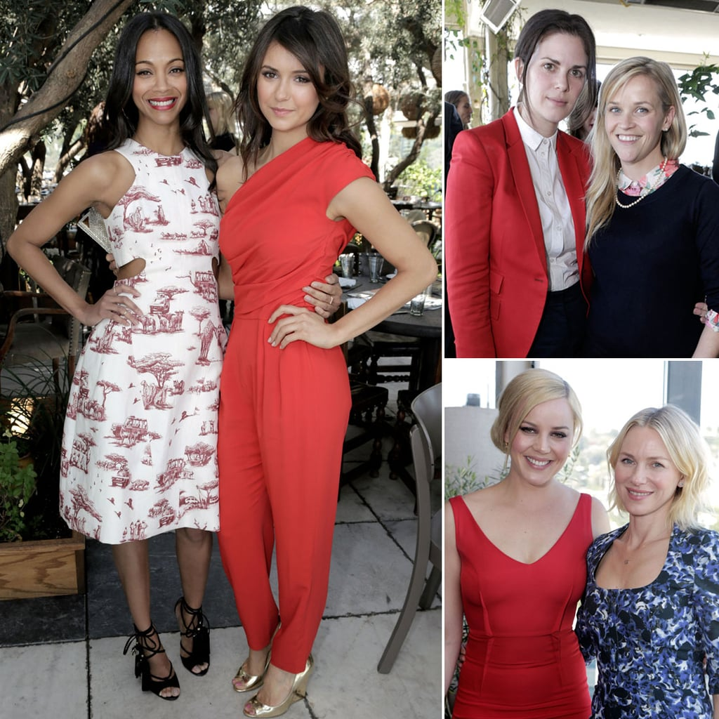 Celebrities at The Hollywood Reporter Stylists Luncheon 2013