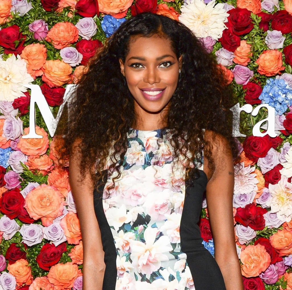 All things braided are welcome during the warmer months, so Jessica White was right on trend with braided bangs at the Max Mara dinner party.