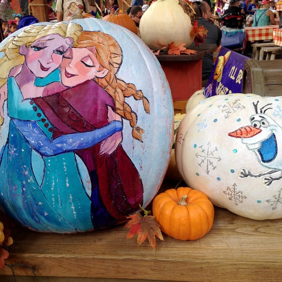 Frozen Pumpkin Ideas