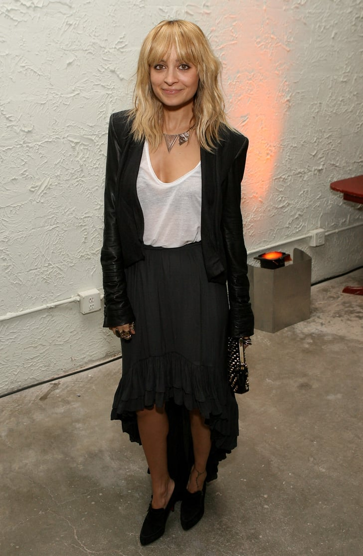 Nicole Richie attended a party for Pressed Juicery.