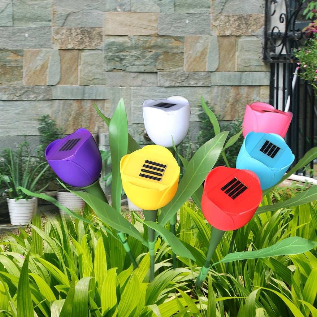 SolarEK Tulip Flower Shape Solar Powered LED Lamps