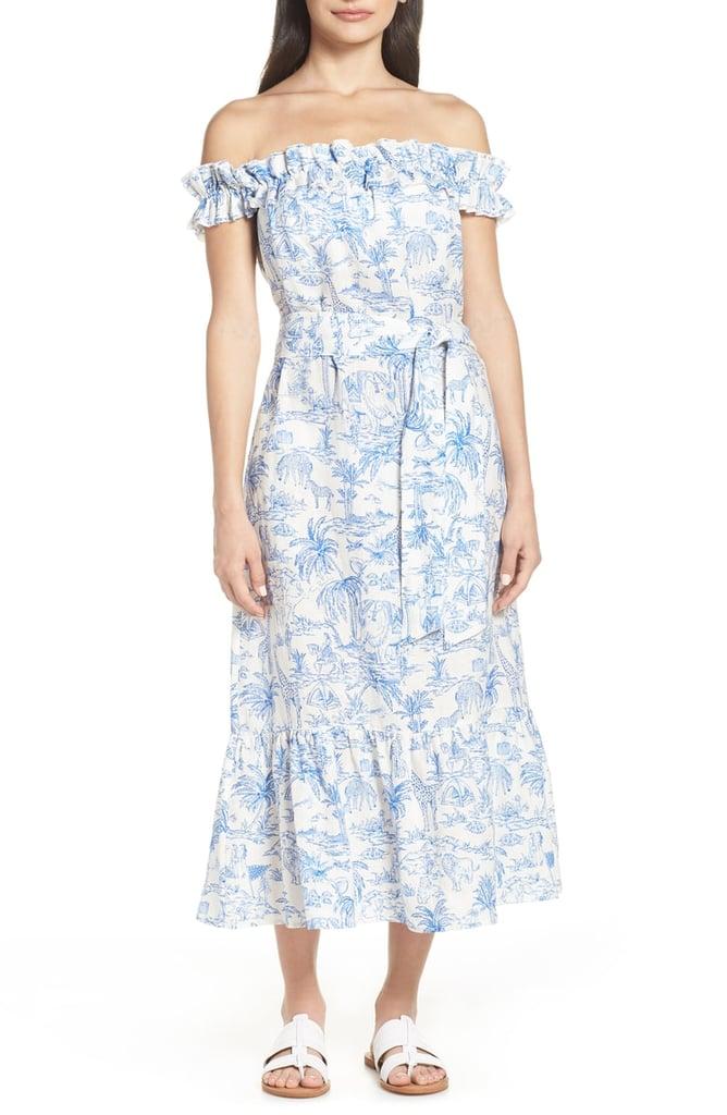 3efa09efe854 Tory Burch Off the Shoulder Cover-Up Dress