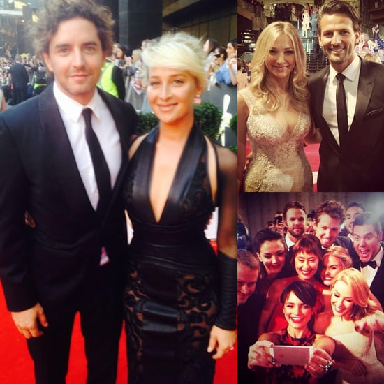 Celebrity Instagram And Twitter Pictures 2014 Logies