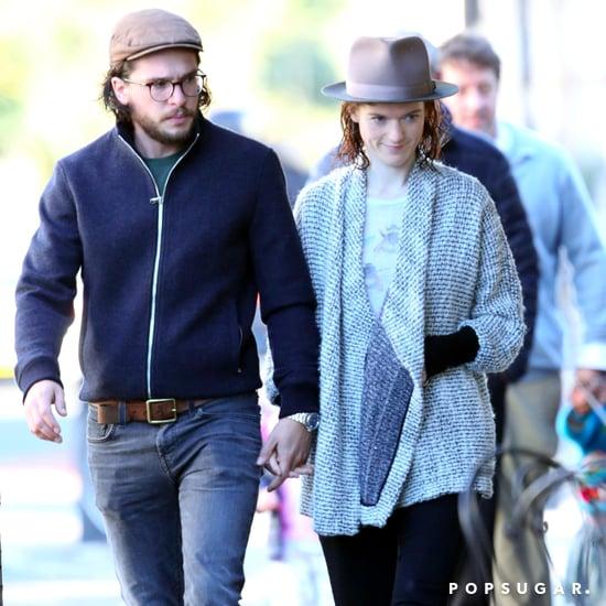 Kit Harington and Rose Leslie Out Together After Engagement