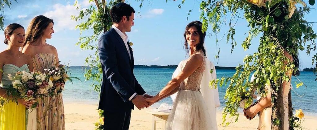 Danielle Snyder's Wedding Dress