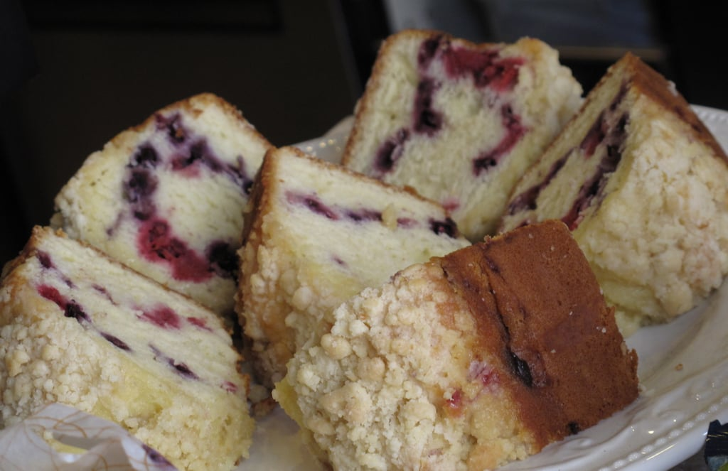 Reduced-Fat Very Berry Coffee Cake