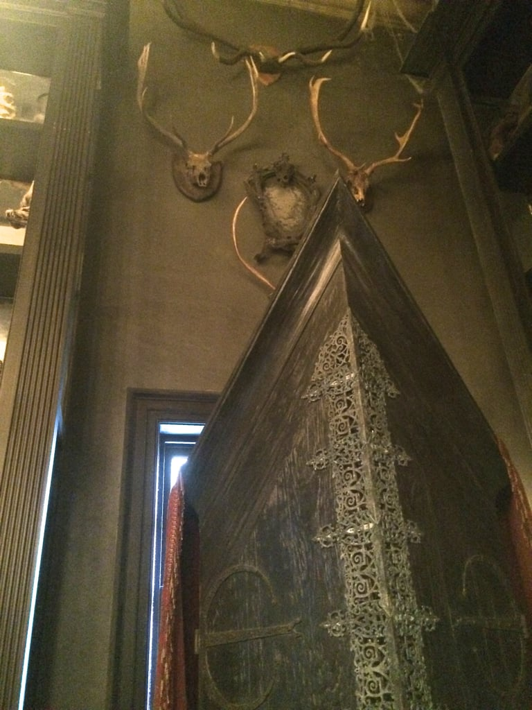 The Vanishing Cabinet in Borgin and Burkes has a special surprise — if you listen closely.