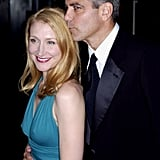 Patricia Clarkson got a sweet kiss from George Clooney during the London Film Festival in November 2005.