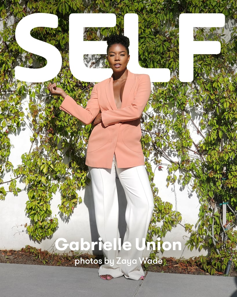 "It's no secret that Gabrielle Union makes quite the cover girl, however, 13-year-old Zaya Wade is clearly one heck of a photographer. For the most recent issue of Self magazine, the 47-year-old mom had a full photo shoot with her stepdaughter behind the lens. Gabrielle took the time to open up about raising Black children in America, as well as how to support children in the LGBTQ+ community. ""As a family, we are all trying to cope,"" she told Carolyn Kylstra, Self's editor-in-chief, regarding the violence that Black Americans have endured. ""We are open with each other about the mixed feelings we are having and talk about the ways in which we can help bring attention to the lives that have been lost but also how we can help create real change to a system so inherently wrong across the board.""      Related:                                                                                                           Dwyane Wade and Gabrielle Union Threw Zaya a 13th Birthday Party Fit For Royalty — See Photos               When asked whether or not raising her kids was more difficult during the pandemic, Gabrielle had a sobering response.  ""I read somewhere on Twitter today, somebody said that Black folks and marginalized folks have been sheltering in place for centuries because we know it's always been safer at home than out in the streets, and we were doing that before the pandemic,"" she said. ""It's that fear that so many marginalized mothers have, when their children are physically outside of their eyesight. And in these times, there are no rules. Nothing makes sense. Laws are not enforced, or they're unevenly enforced, and people are getting away with breaking the law with impunity. You don't even know what to say, because the hypocrisy is just rampant."" ""It's that fear that so many marginalized mothers have."" Given recent events, Gabrielle believes it's more important than ever to talk to kids about the realities of being Black in America.  ""You cannot price your way out of, educate your way out of, move yourself away from racism, anti-Blackness, discrimination, homophobia, transphobia, Islamophobia,"" she said. ""All of those things exist no matter how successful you are. No matter how you speak. They exist. So this idea of teaching our children to constantly be shape-shifting to make themselves more palatable or less scary for people who are committed to oppressing you anyway, no matter what you do, I rejected it. I started to reject that."" For Gabrielle and husband Dwyane Wade, teaching their kids to be their authentic selves is paramount. ""What I teach them is to always center joy, peace, grace, compassion, understanding, and to be a good neighbor and global citizen, but that you are worthy and deserving and validated by birth, by the fact that you exist,"" she said. ""And that is absolutely enough, and if it's not enough for someone, that's not someone that you need to be worried about."" Now that Zaya has transitioned, Gabrielle has been enjoying exploring what truly being a woman means with her stepdaughter. ""There's no one way to be a woman. There's no one way to be a Black woman,"" she explained. ""There's no one way to be beautiful. There's no one way to dress or to love your body."" ""I'm just interested to see myself through Zaya's eyes."" She also has advice for parents who have children in the LGBTQ+ community: ""You can lead with humility,"" she said. ""It's okay not to have all the answers. The most important thing is to make sure your child knows you love and accept them. You can legit say, 'Okay, I don't have all the answers, but what I do know is that I love you, and I'm going to be on this journey with you, and we're going to learn together.'"" For Garbrielle, working with Zaya on the photo shoot was a once-in-a-lifetime experience. ""I'm just interested to see myself through Zaya's eyes,"" she said. ""I think that's really . . . interesting. Because I trust her. And she has a story to tell."" Of course, Zaya thoroughly enjoyed the opportunity, too. ""The only emotion to describe the way I felt during the photoshoot, is pure bliss,"" explained Zaya. ""I finally felt like I was doing something that I loved. It was a great experience."" Keep reading to see the breathtaking photos of Gabrielle taken by Zaya.       Related:                                                                                                           A Man Shared Empowering Birth Photos to Normalize Trans and Nonbinary People Giving Birth"