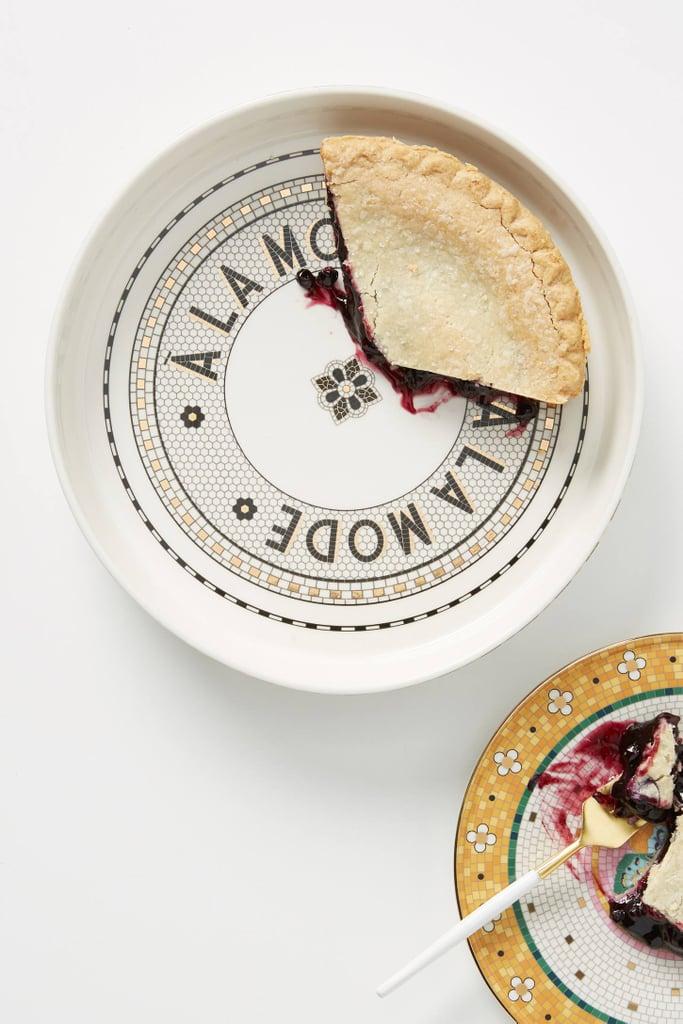 Bistro Tile A La Mode Pie Dish