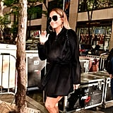 Jennifer Lopez Wearing Her Quay Sunglasses