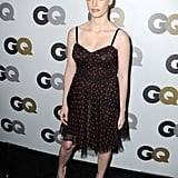 A flirty look for GQ's Men of the Year party in 2010.