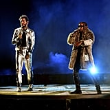 Post Malone and Ty Dolla Sign at the 2018 American Music Awards