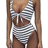 Inorin Cutout One-Piece Swimsuit