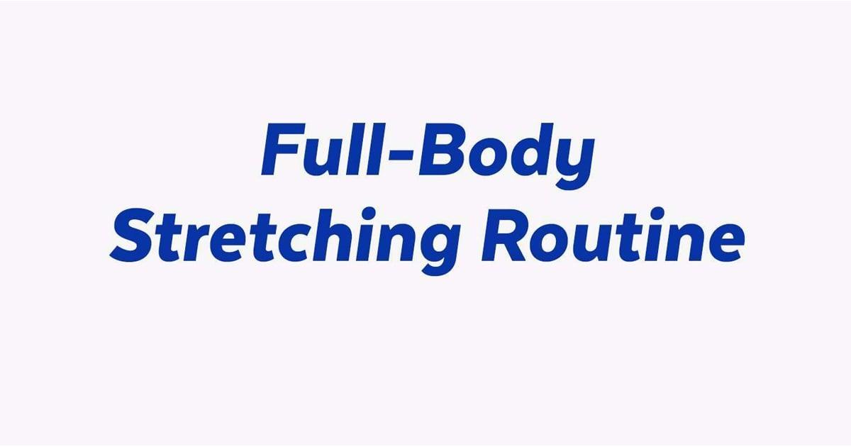 photo regarding Stretching Charts Free Printable titled Printable Extend Timetable POPSUGAR Health