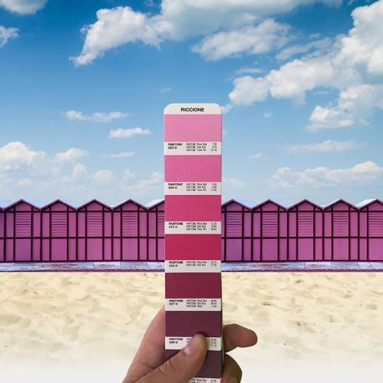 Matching Pantone Colours and Landscape Instagram Account