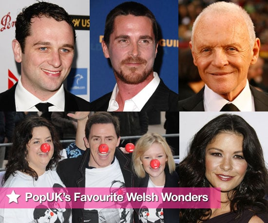 PopSugarUK's Pick of Welsh Celebrities to Celebrate St David's Day
